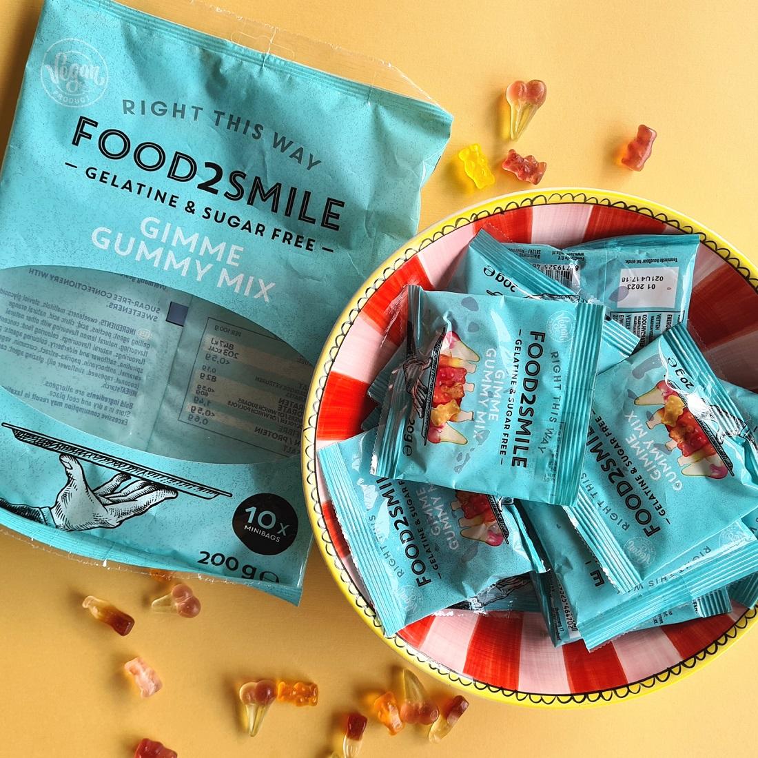 suikervrije traktatie food2smile
