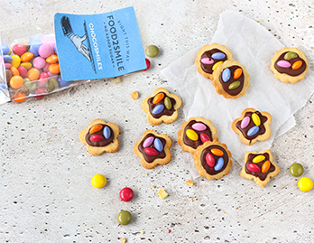 Chocolade koekjes zonder toegevoegde suiker